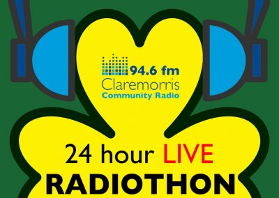 Claremorris Community radio start Radiothon today at 6pm
